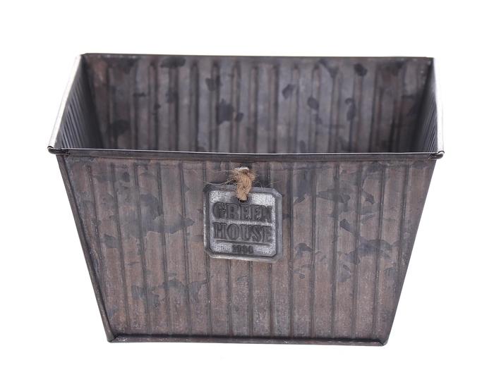 <h4>DF500063400 - Planter Tinco 15.5x15.5x9 grey</h4>