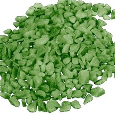 <h4>Decoration grit 4-6mm - 5kg light green</h4>