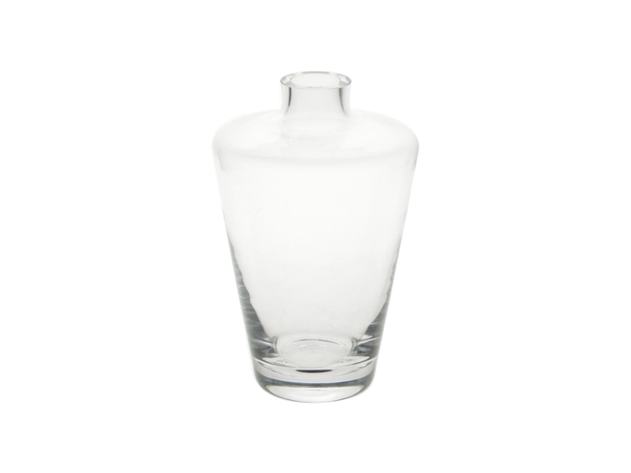 <h4>DF870625733 - Vase glass h22cm clear</h4>