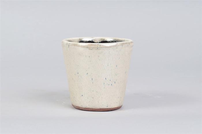 <h4>Alicante Cream Pearl Pot 13x12cm</h4>
