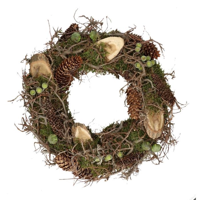 <h4>Wreath d45cm Autumn mix</h4>