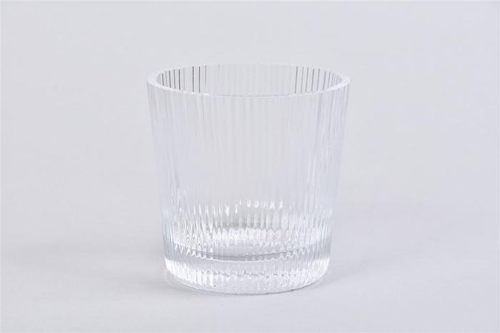 <h4>Glas Pot Optisch Cc 9x9cm</h4>
