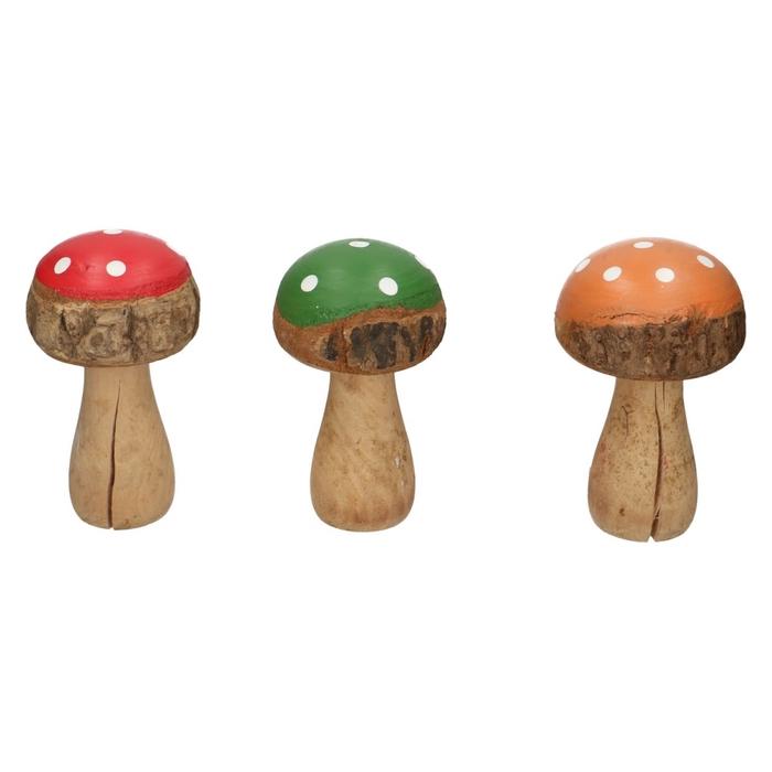 <h4>Autumn Mushrooms d7.5*13.5cm ass.</h4>