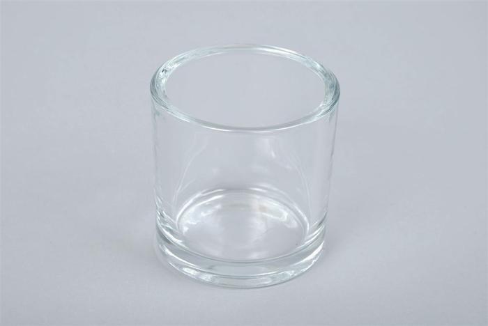 <h4>Glas Cilinder Zwaar 10x10cm</h4>
