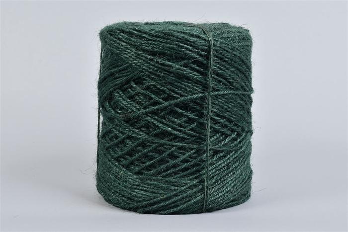 <h4>Lint Vlaskoord Jute D.groen 3,5mm 1kg Wk16</h4>