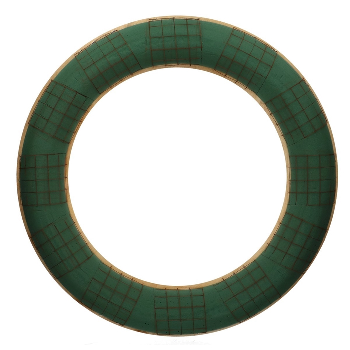<h4>Steekschuim Basic Krans+hout d65cm</h4>