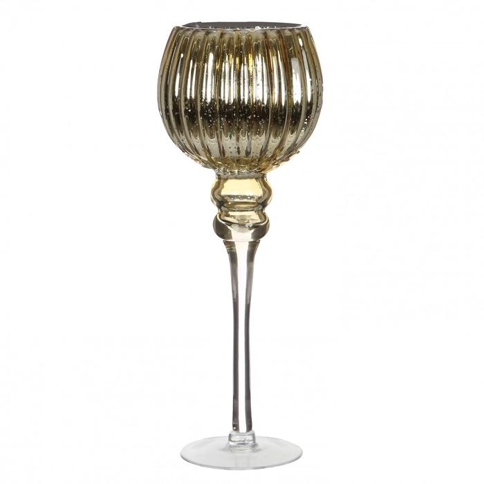<h4>Glas Coupe vaas d15*40cm</h4>