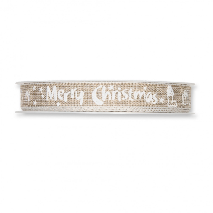 <h4>Christmas Ribbon Merry Christm.15mm 20m</h4>