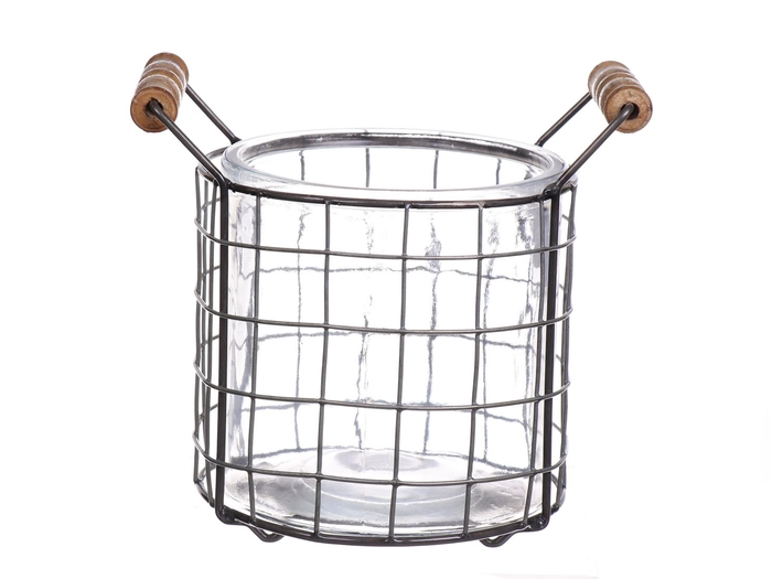 <h4>DF530361300 - Pot Braxton d12xh11 metal</h4>