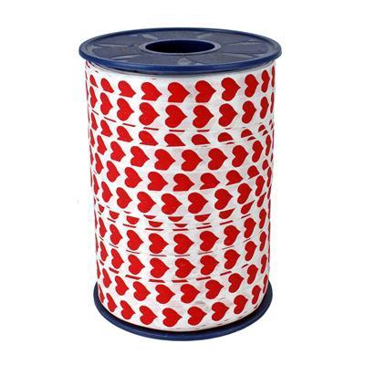 <h4>Curling ribbon 10mm x250m hearts 600</h4>
