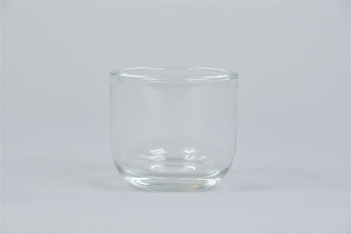 <h4>Glas Pot Zwaar Rond 7x7cm</h4>