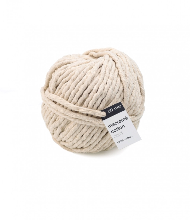 <h4>Draad Macrame Cotton Cord 5mm 50m</h4>