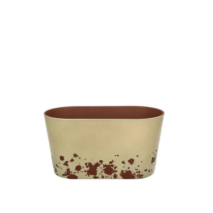 <h4>Plastic Melam rust tray ov20/10*10.5cm</h4>
