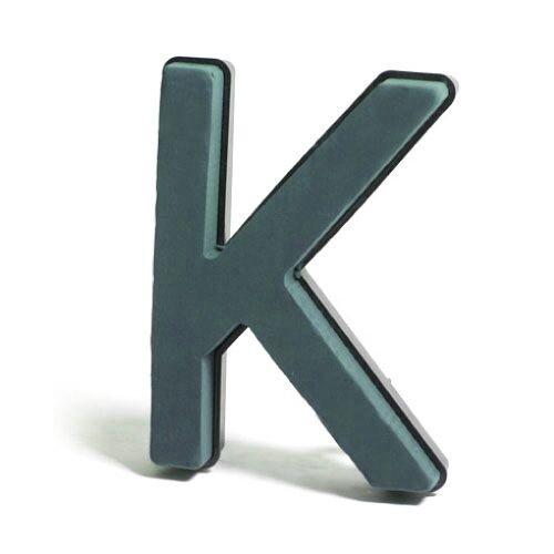 <h4>Steekschuim Basic Letter K 29cm</h4>