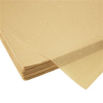 <h4>Papier vel: 50x75cm zijde 480 vellen 17gr creme *</h4>