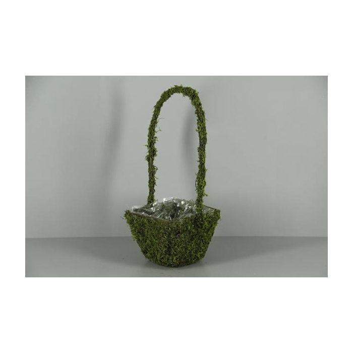 <h4>Planter Moss+handle 19x19cm</h4>