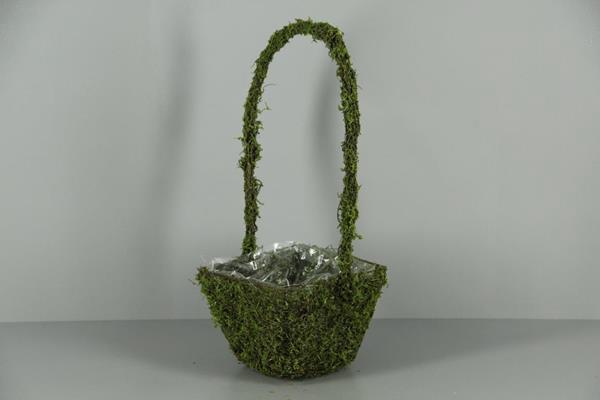 <h4>Planter Moss+handle 19x19cm</h4>