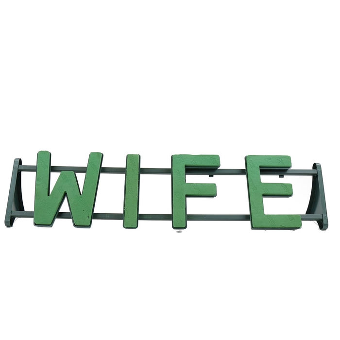 <h4>Foam Basic Frame WIFE 29*115cm</h4>