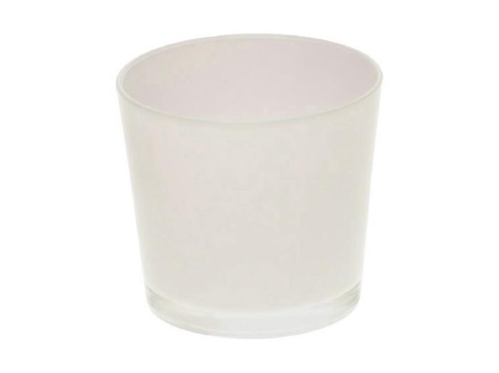 <h4>DF883500300 - Pot Nashville d11.5xh9.5 white</h4>