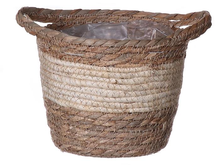 <h4>DF663372000 - Basket Chase d20.5xh18 natural/beige</h4>