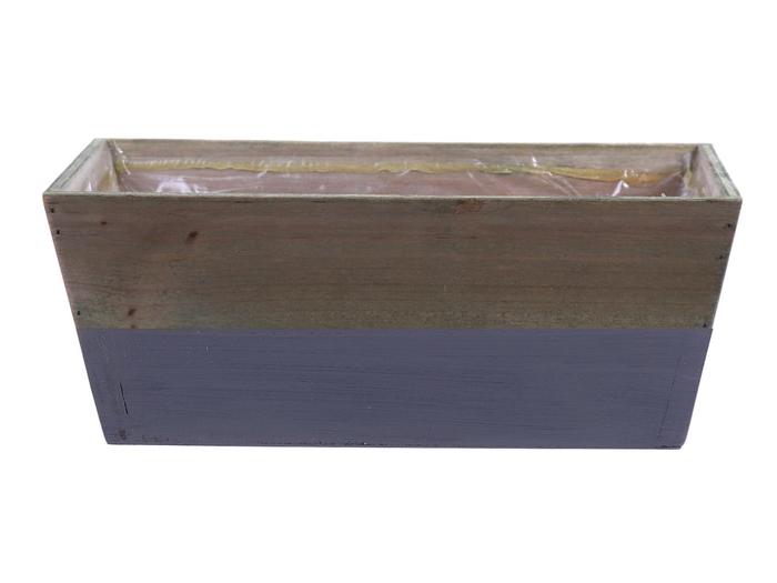 <h4>DF662680600 - Planter Argo3 25x13x10 grey/natural</h4>
