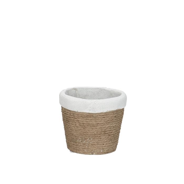 <h4>Ceramics Bondone pot d07.5*7cm</h4>