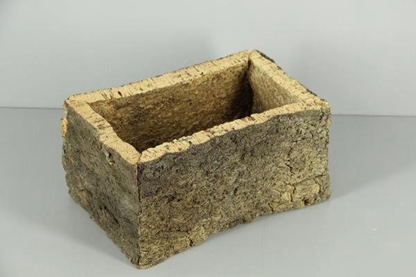 <h4>Cork Pot Black 2cm 14x28x15cm</h4>