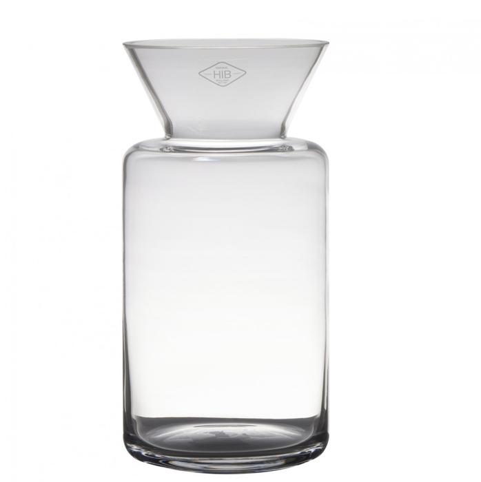<h4>Glas Fano up vaas d15*30cm</h4>