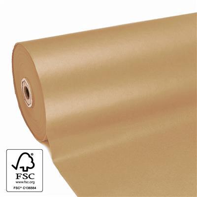 <h4>Papier: 60cm brown rayé kraft 50gr 400m.</h4>