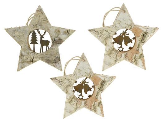 <h4>Star Birch/mtl Hanging 12cm Mx</h4>