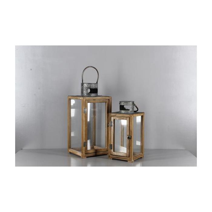 <h4>Lantern Wood Dk.brn S/2 A16601</h4>