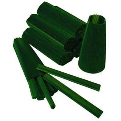 <h4>Cuffs  125mm green  pack 100 pcs.</h4>