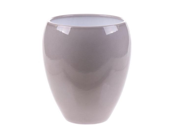 <h4>DF884340600 - Pot Kaelie d14xh18.5cm grey</h4>