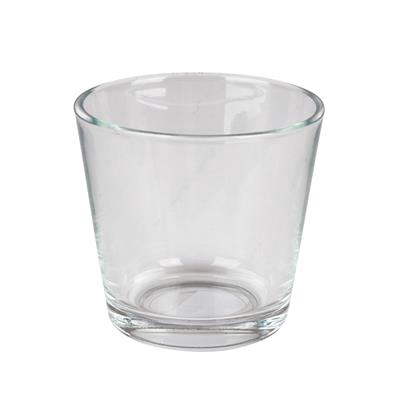 <h4>Pot conique verre ø11,5xH11cm</h4>