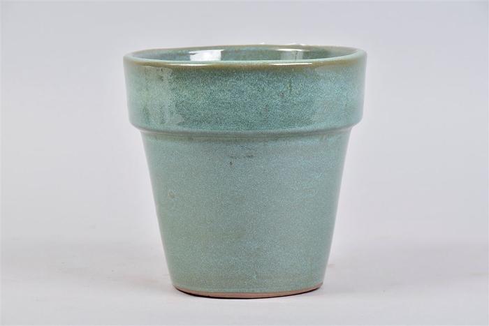 <h4>Ebbi Moss Green Pot Glaze 17x17cm</h4>