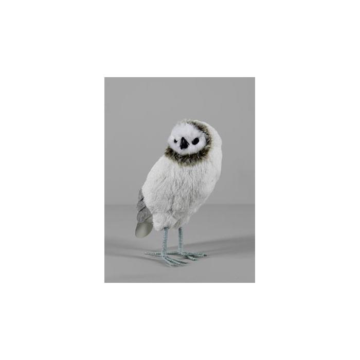 <h4>Fig. Owl Felt+fiber 24cm 1182</h4>