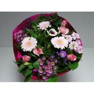 Bouquet Biedermeier Large Pink