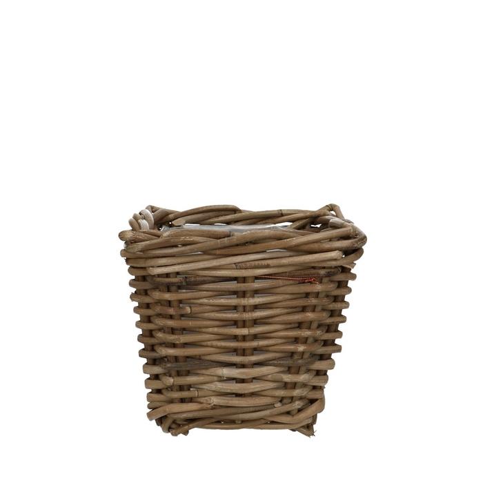 <h4>Baskets Rattan pot sq d18*14cm</h4>