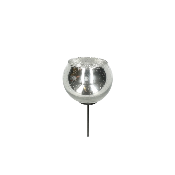 <h4>Candlelight Glass ball/pin d7/5*12cm</h4>