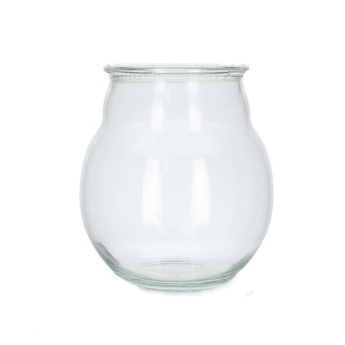 <h4>Glass Ball vase Jeremy d16*18cm</h4>