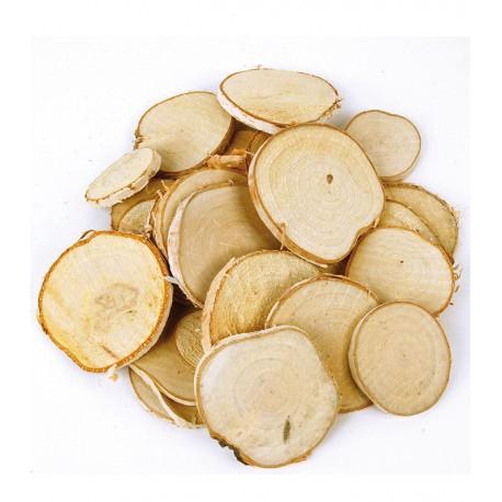 <h4>Rodaja de madera</h4>