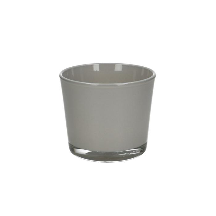 <h4>Glas kleur Pot Conner d10*8.5cm</h4>