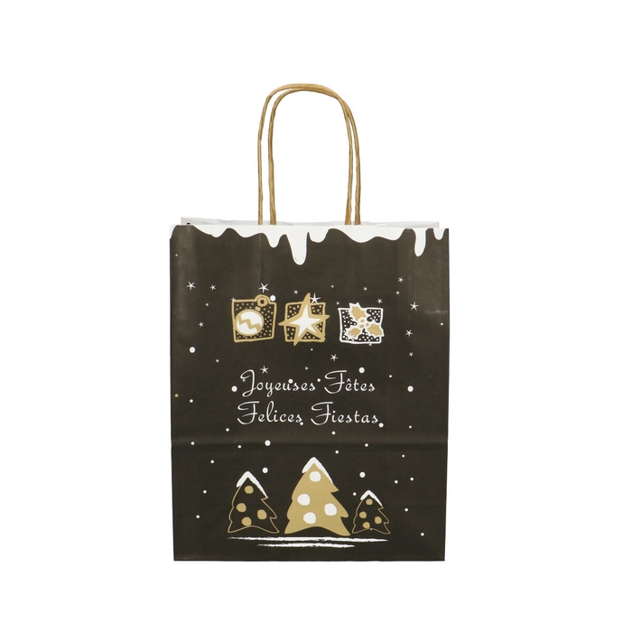 <h4>Christmas Bag deco d18/8*22cm</h4>