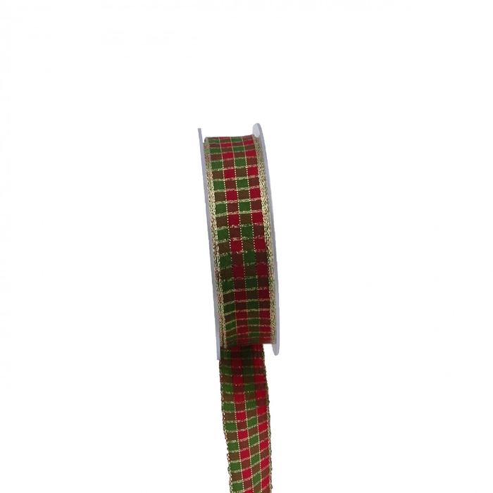 <h4>Kerst Xmas Ruit glitter 25mm 20m</h4>