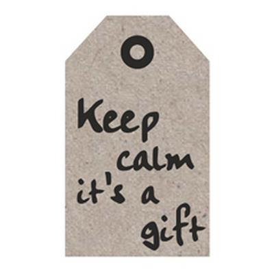<h4>Bloemkaartjes ma -Keep Calm- pakje 20 stuks</h4>