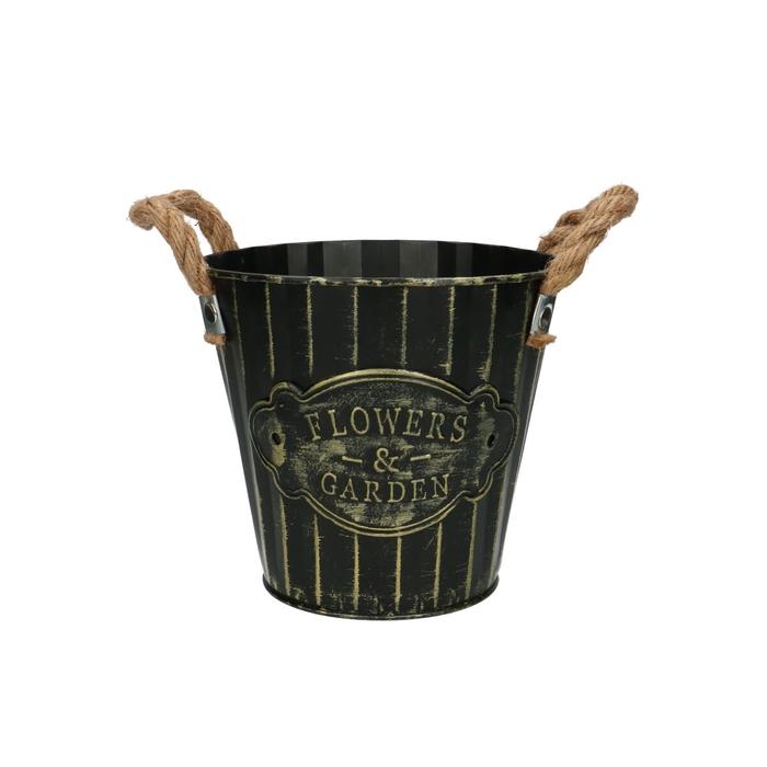 <h4>Zinc Sef pot d16*15cm</h4>
