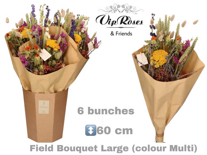 DRIED BOUQUET LARGE MULTI