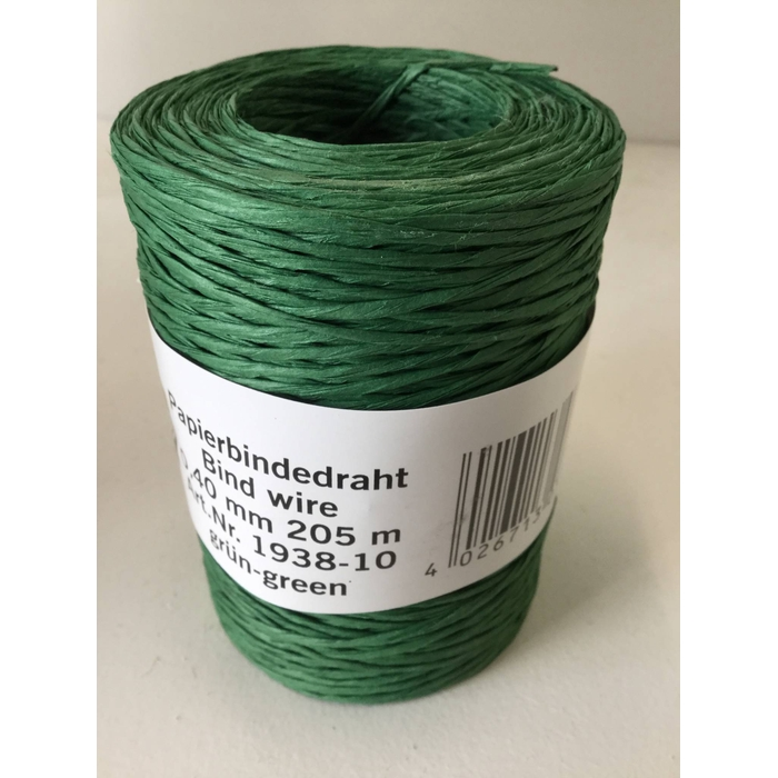 <h4>BINDWIRE GROEN 0,4MM 205M</h4>
