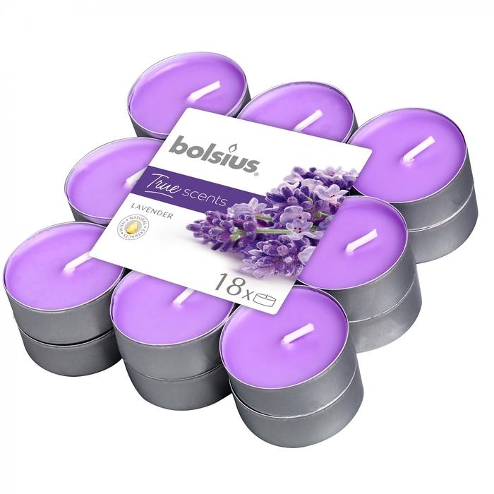 <h4>Kaars Geur theelicht Lavendel x18</h4>