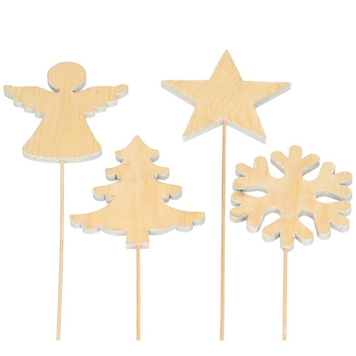 <h4>Christmas sticks 20cm Christmas 8.5cm 4 ass.</h4>